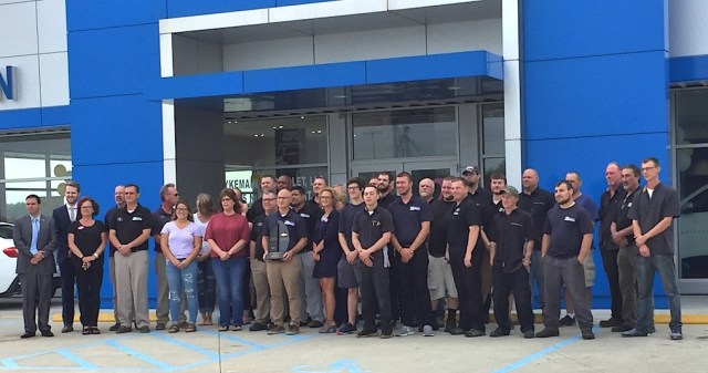 stykemain chevrolet earns gm mark of excellence leadership award west bend news stykemain chevrolet earns gm mark of