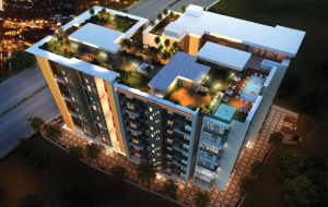 Cancun Skylark Newtown Kolkata Arial View