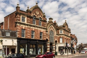 Listed Buildings in Westbourne. Westbourne Arcade - Seamoor Road Frontage