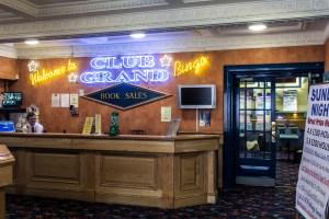 Foyer. The Grand Bingo, Westbourne.