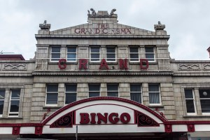Frontage. The Grand Bingo, Westbourne.