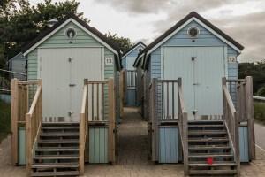 Westbourne Beach beach huts, Alum Chine