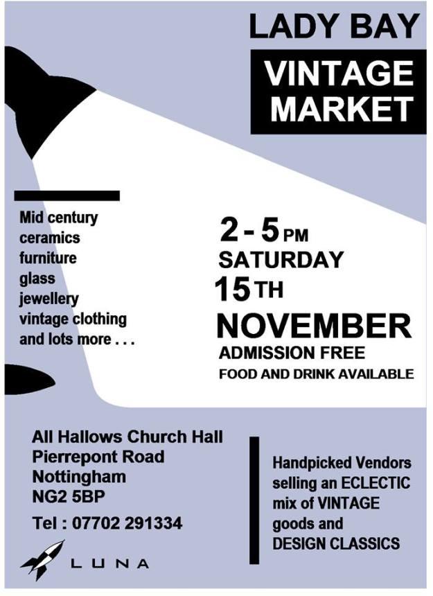 Lady Bay Vintage Market November 2014