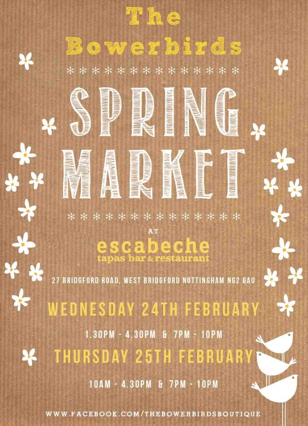 Bower Birds Spring Market