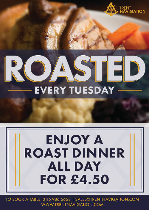 Trent Navigation Tuesday Roast