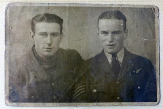 Sergeant Sedgley on the right.