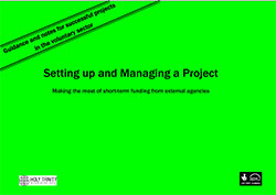 Setting up and Managing a Project