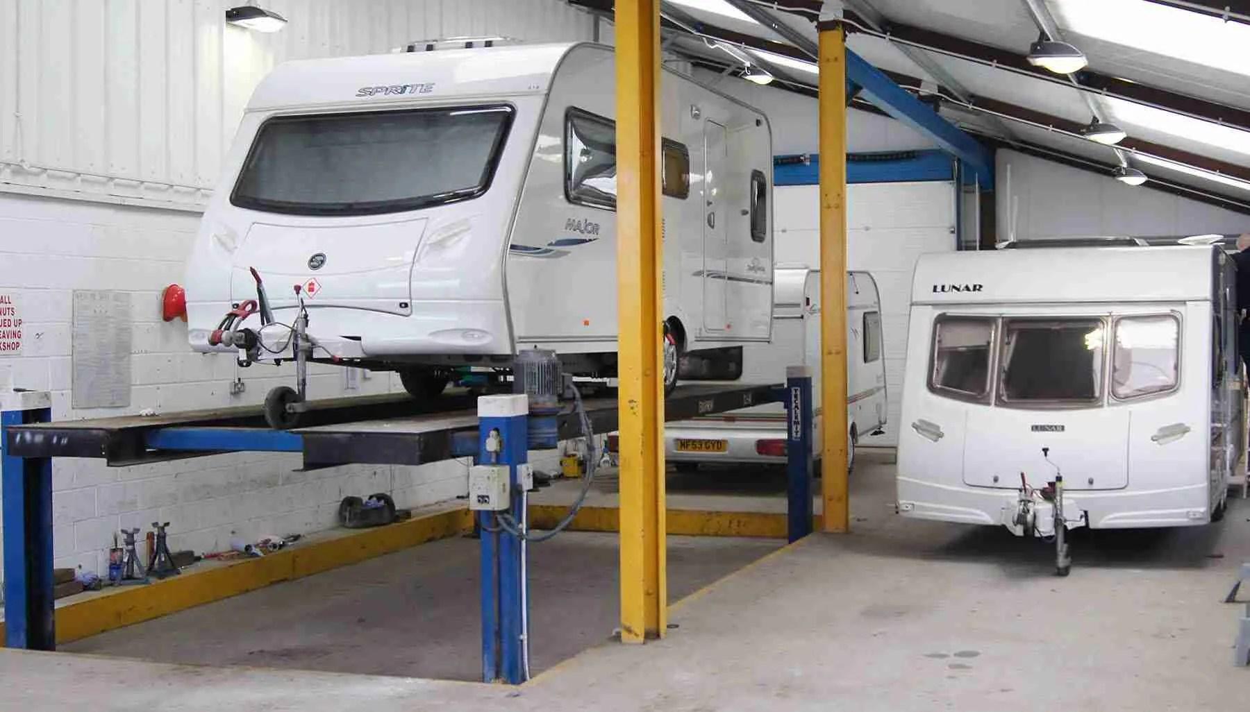 caravan_repair_workshop Blackpool