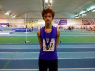 Ethan Milligan Northern U20s silver medal