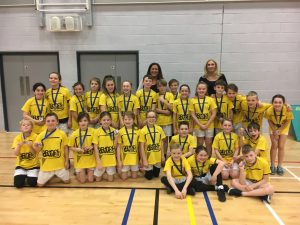 Saughall All Saints Sportshall Athletics Squad