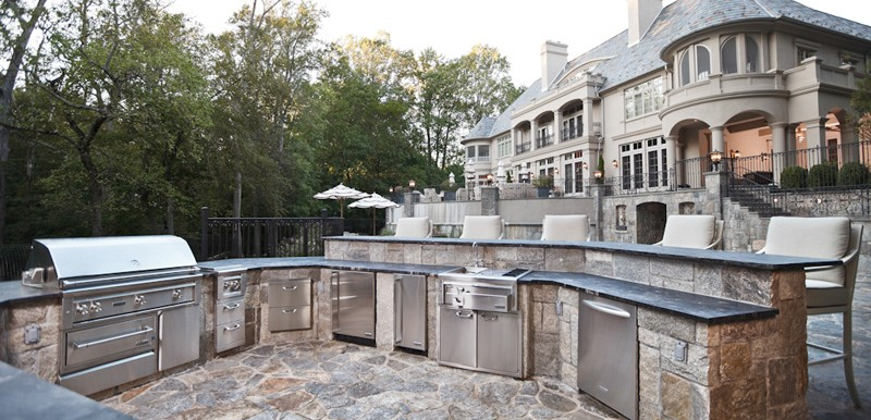 Outdoor Kitchens Westchester Pavers