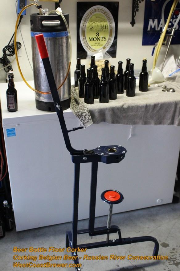 How to cork Beer Bottles