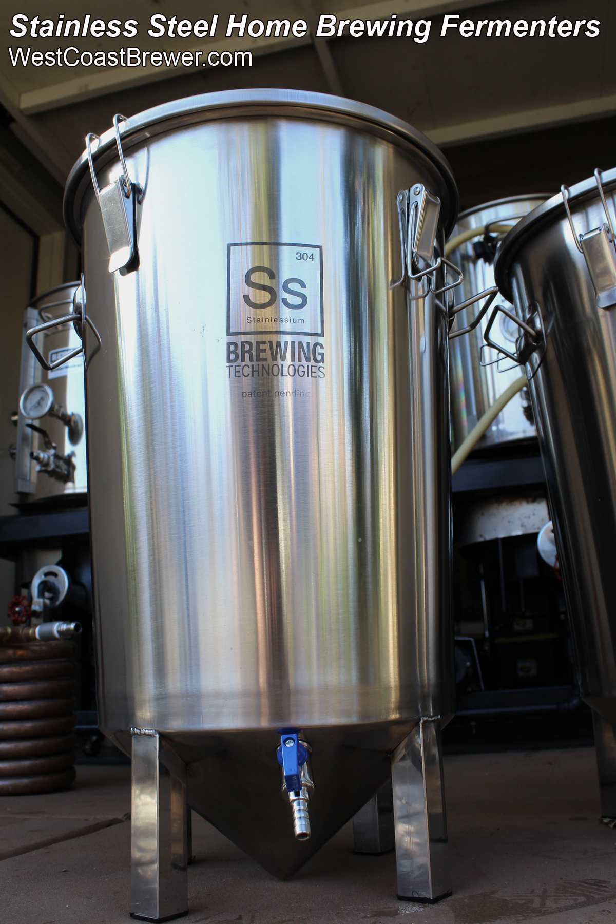 Stainless Steel Brew Bucket