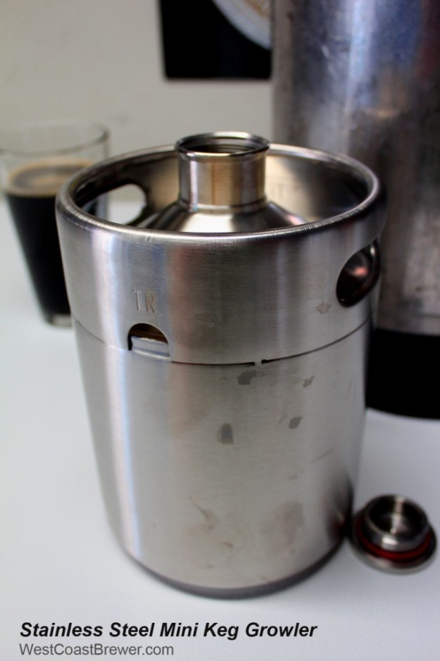 Stainless Steel Mini Keg Home Brew Growler