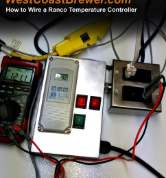 how to wire a ranco digital temperature controller [ 1400 x 1600 Pixel ]