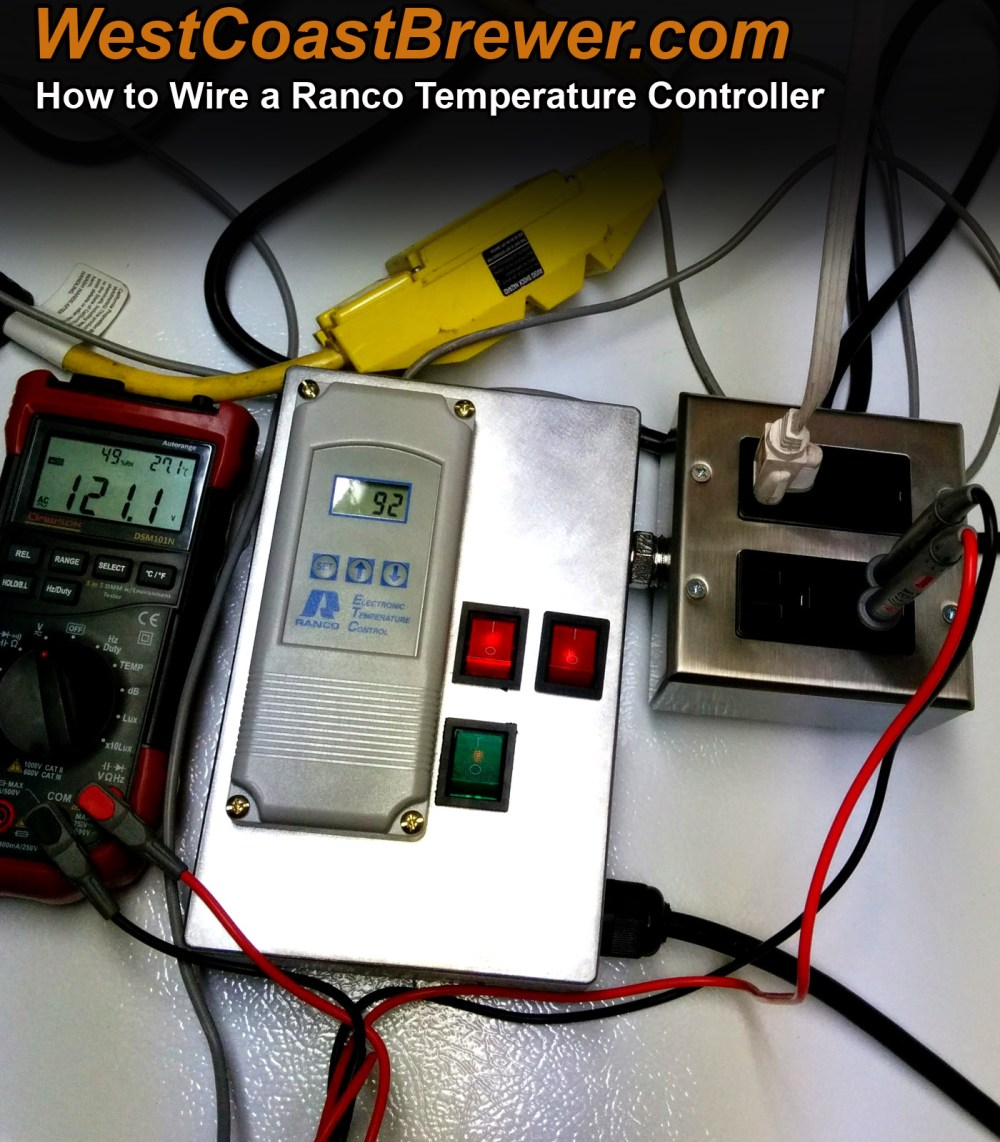 medium resolution of how to wire a ranco digital temperature controller