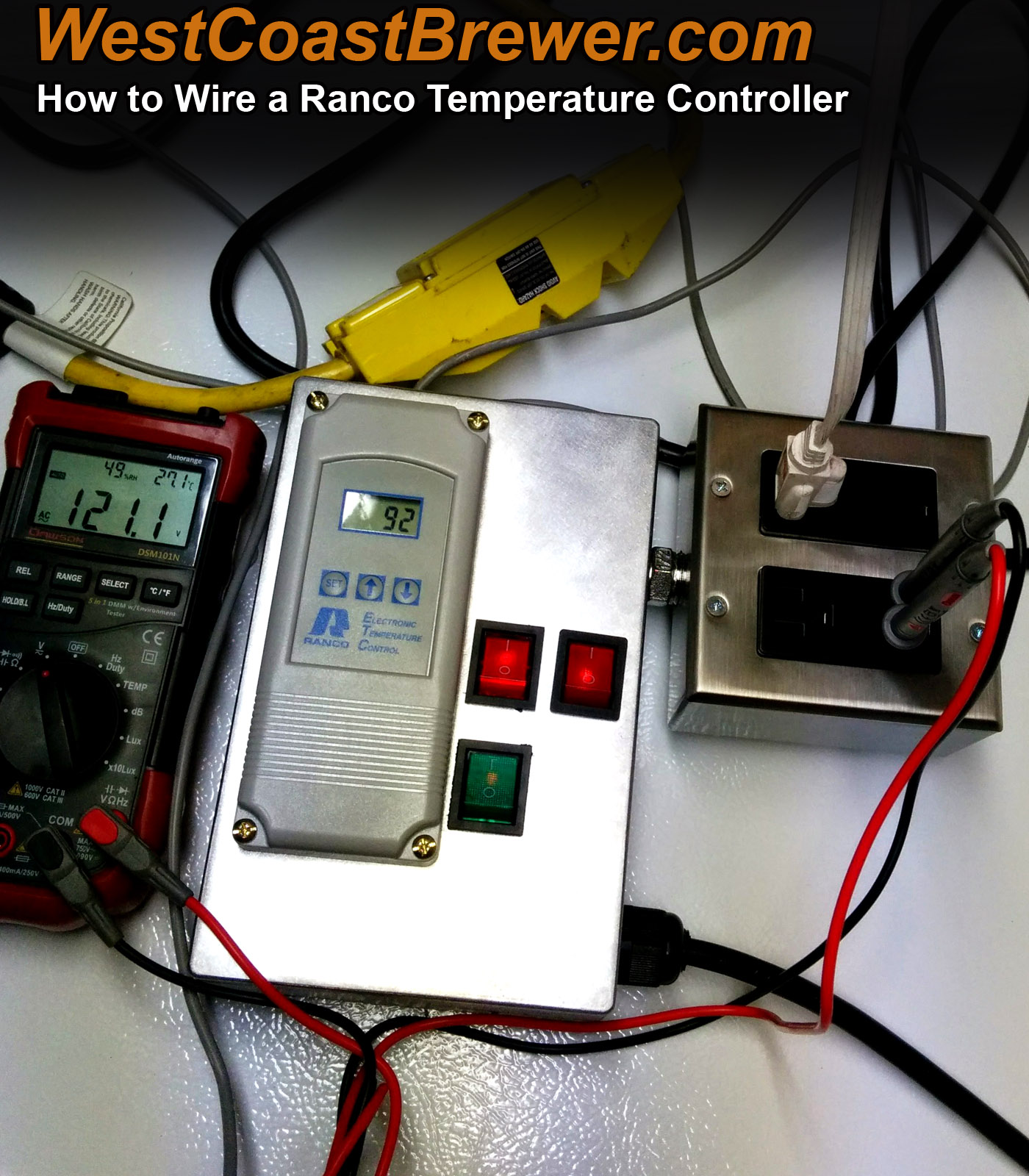 hight resolution of how to wire a ranco digital temperature controller