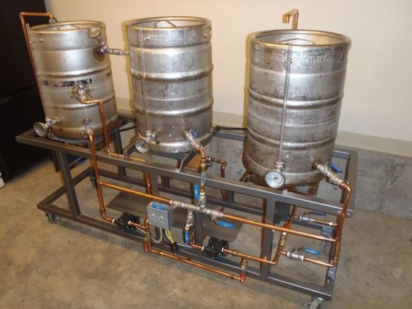 Homebrewing Stand