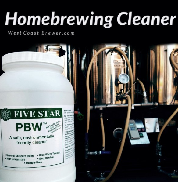 Homebrewing Cleaner