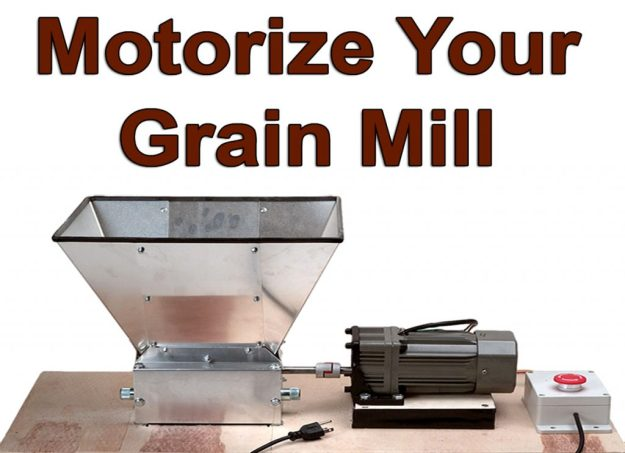 Grain Mill Motor Kit
