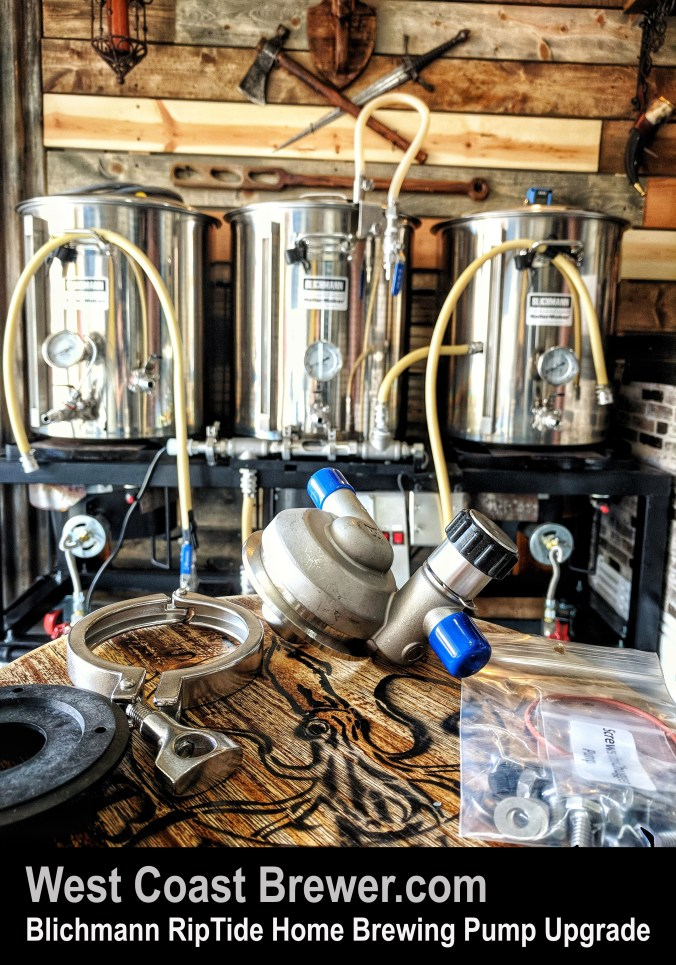 Blichmann RipTide Home Brewing Pump Upgrade Kit #Blichmann #RipTide #Rip #Tide #Pump #Homebrew #Homebrewing #Home #Brewing #Brewer #Brewery #Blichman #Brewrig #Rig #Stand #Sculpture #System
