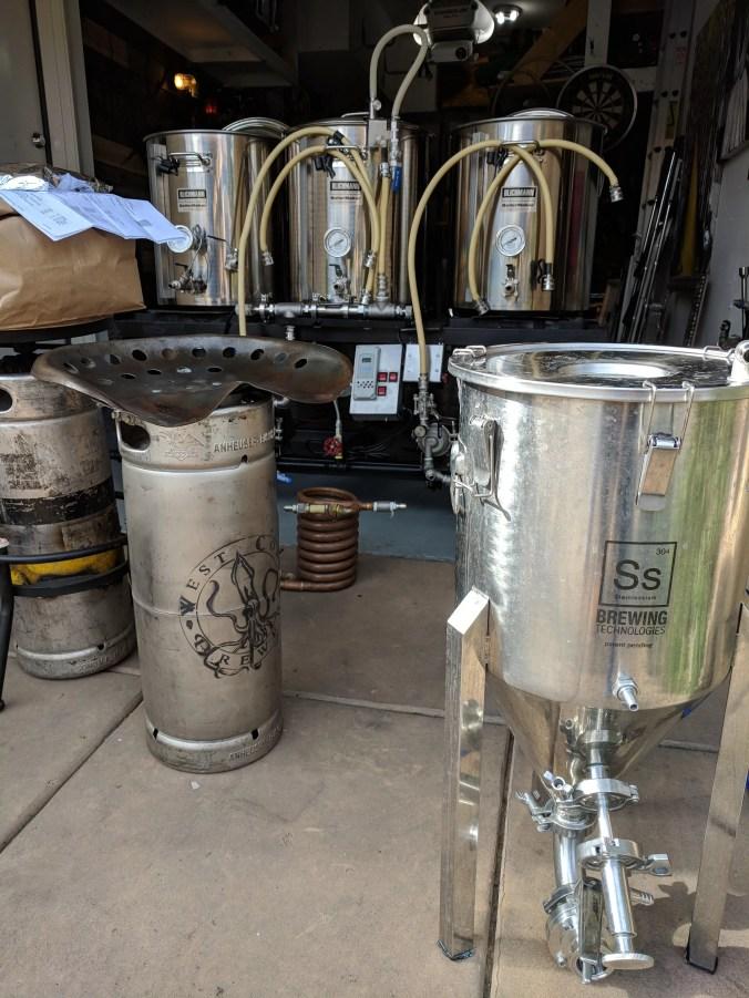 Ss BrewTech Stainless Steel Conical Homebrewing Fermenter