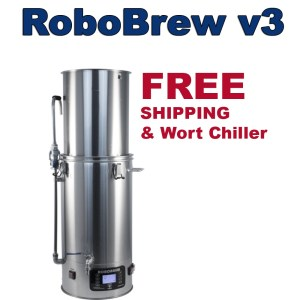 New RoboBrew v3 Home Brewing System