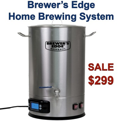 The Brewers Edge Home Brewing System