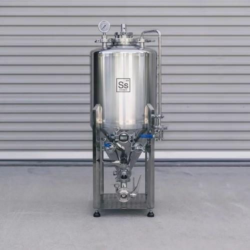 SS Brew Tech Unitank Fermenters
