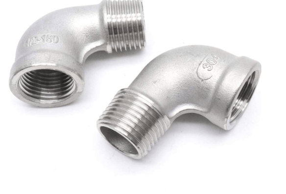 Half Inch Stainless Steel Elbows for Home Brewing