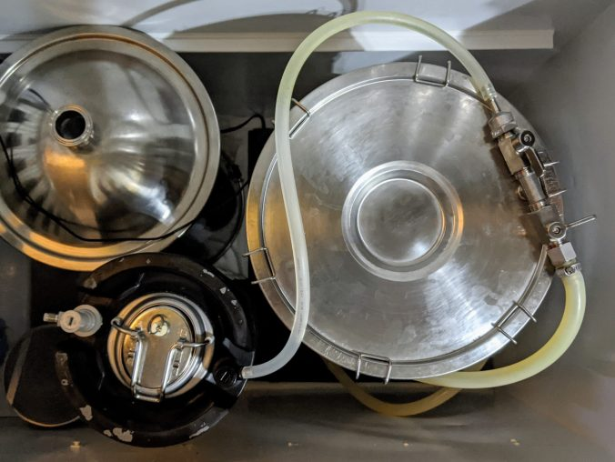 Purging Kegs With CO2 From A Fermenter