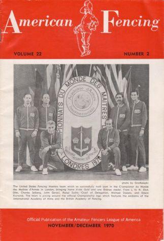 1970 Masters AmFen cover