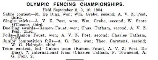 1904 fencing