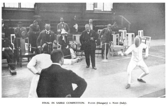 1912 Sabre Fuchs v Nadi