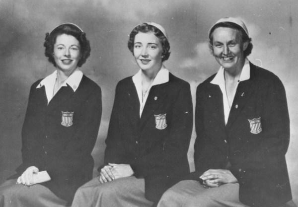 1952 Oly team.Craus.Romary.Mitchell