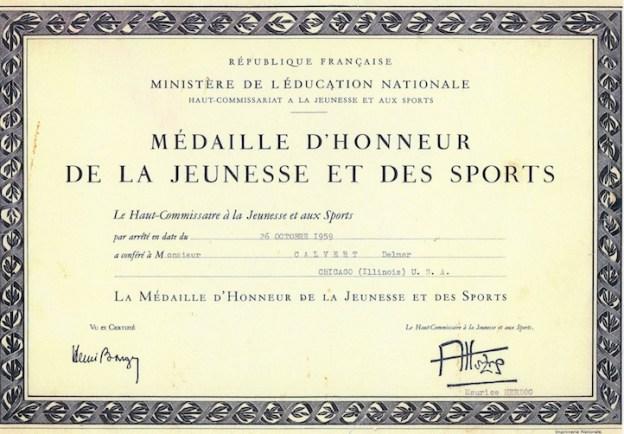 Delmar.sports award