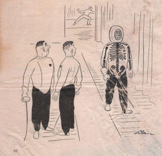1957 xray comic