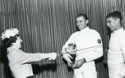 1959 NCAA Sabre with Mike D'Asaro