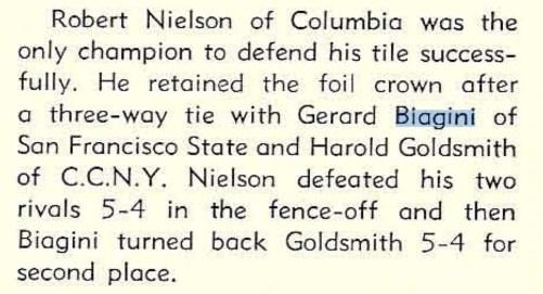 1951 NCAA.Biagini
