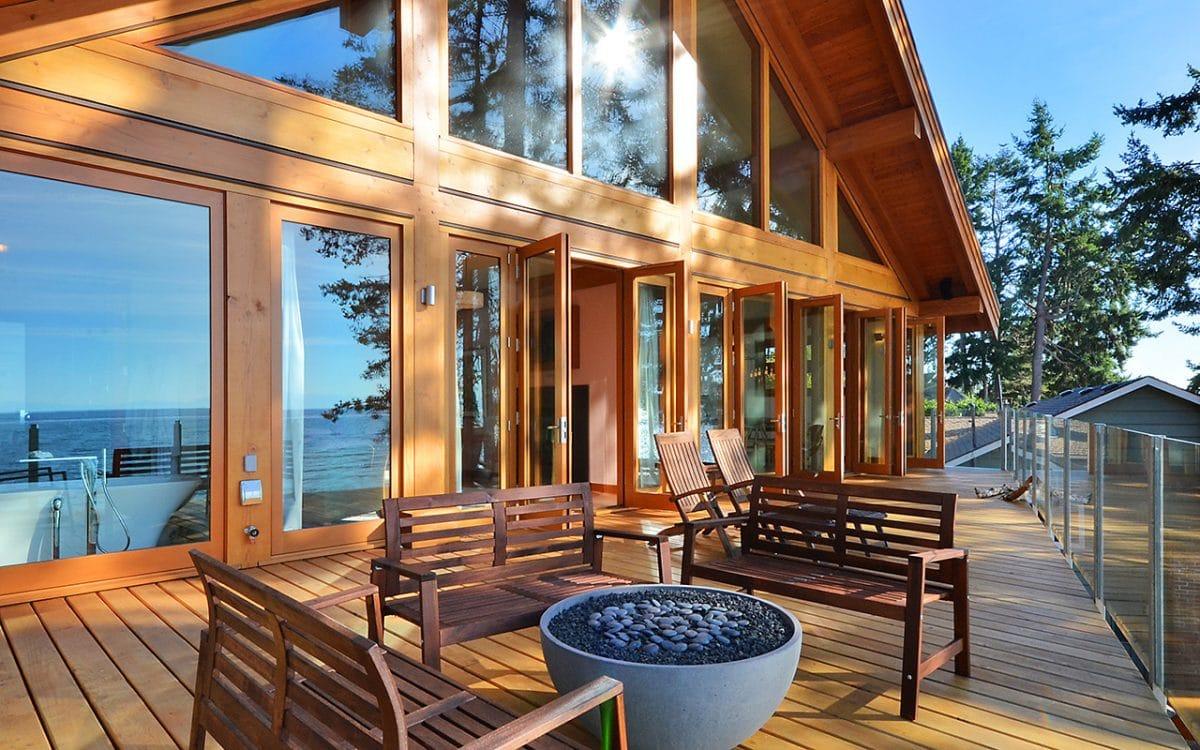 Davis Bay Timber Frame  West Coast Log  Timber