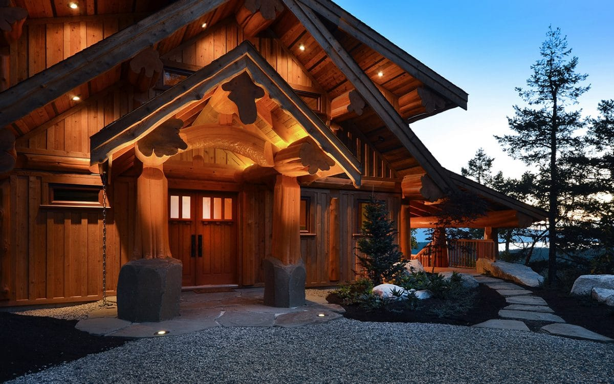 Best Kitchen Gallery: Post And Beam West Coast Log Homes of Post And Beam Home Designs  on rachelxblog.com