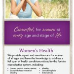 Women's Health Ad