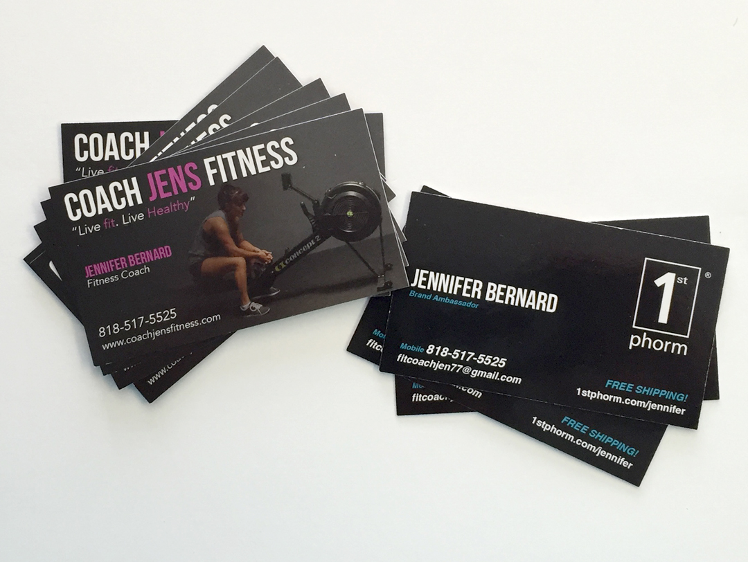 Coach Jens Fitness – Business Card