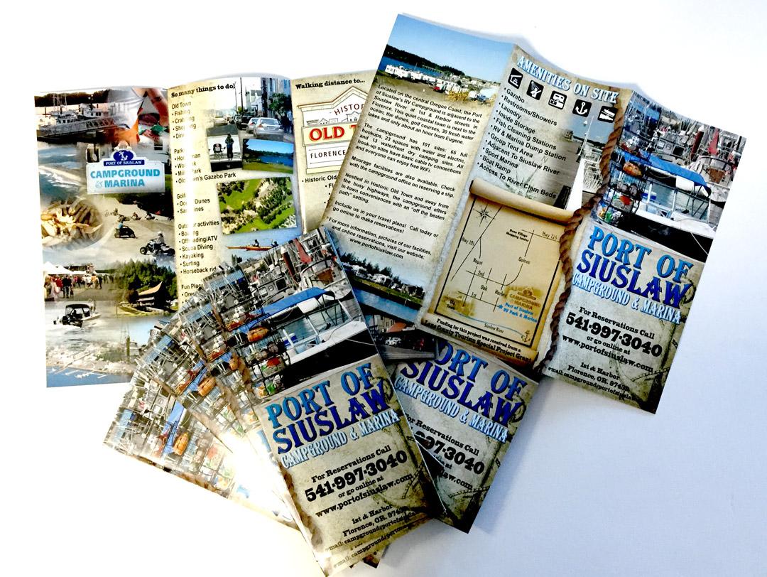 Port of Siuslaw – Tri-Fold Brochure