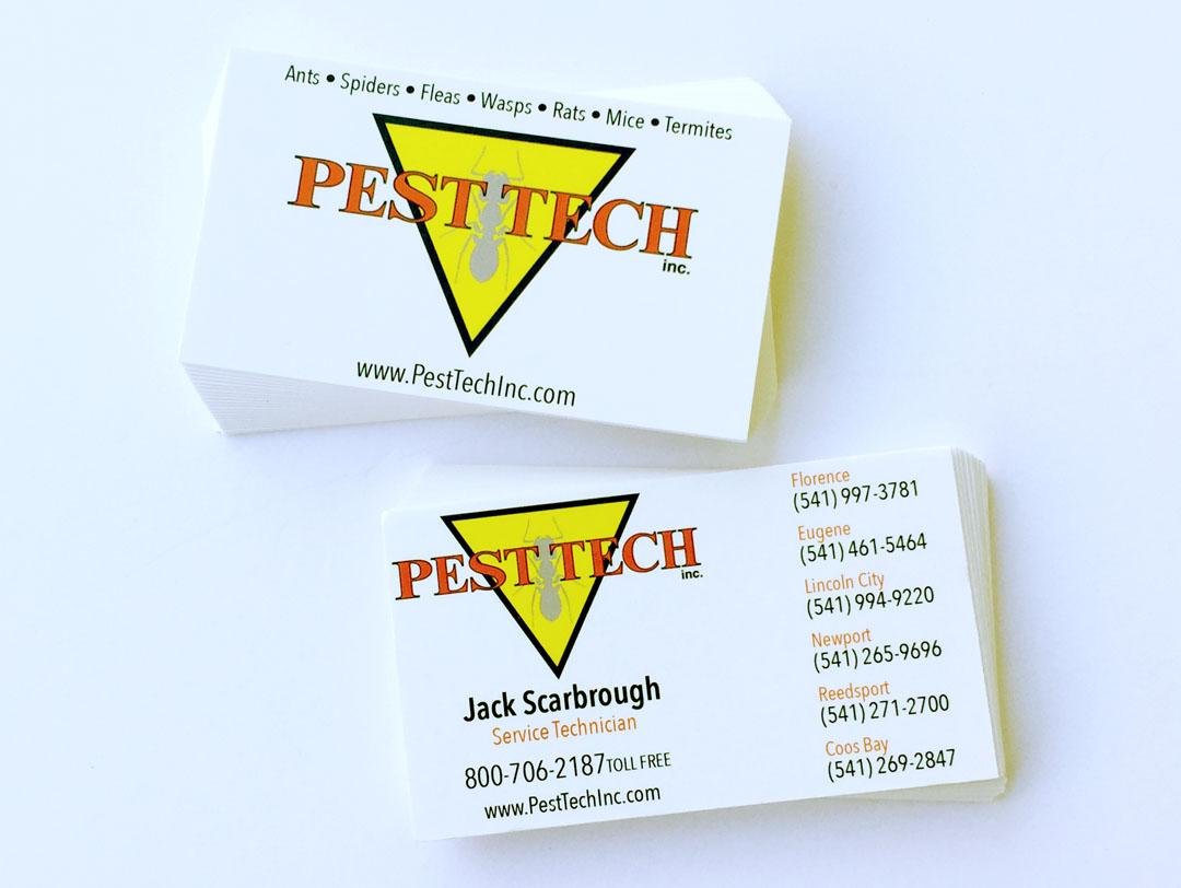Pest Tech Inc – Business Card