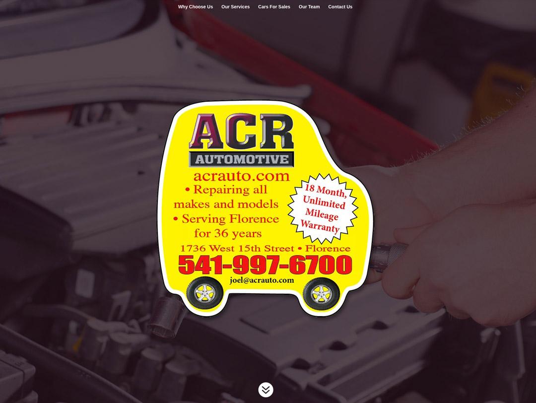 ACR Automotive – Website