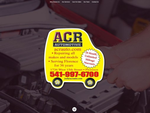 ACR Automotive – Website