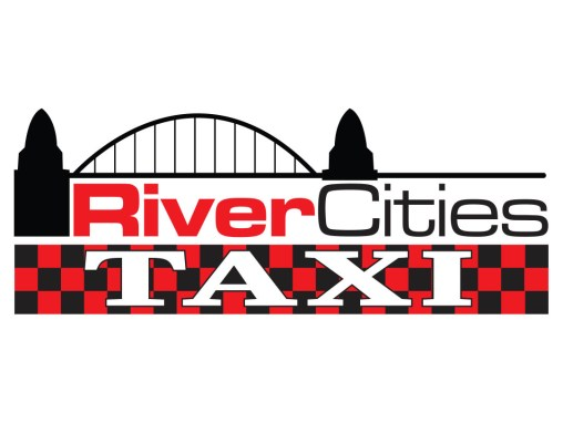 River Cities Taxi – Logo