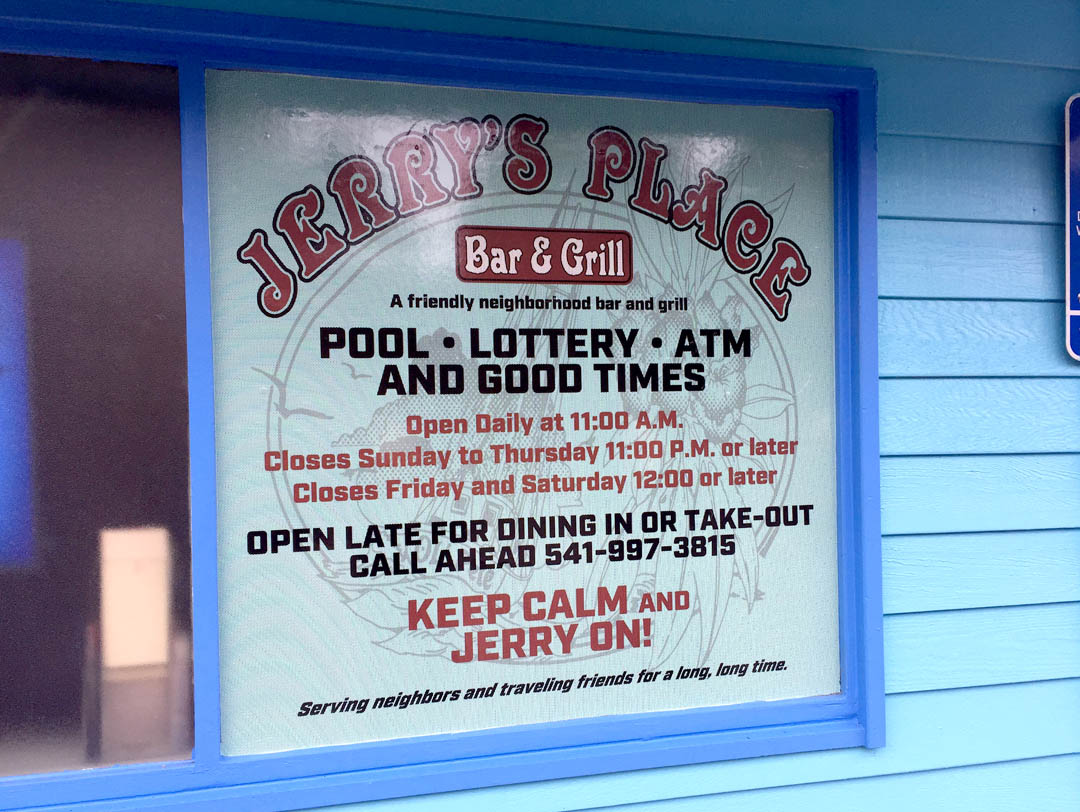 Jerry's Place – Perforated Window Vinyl