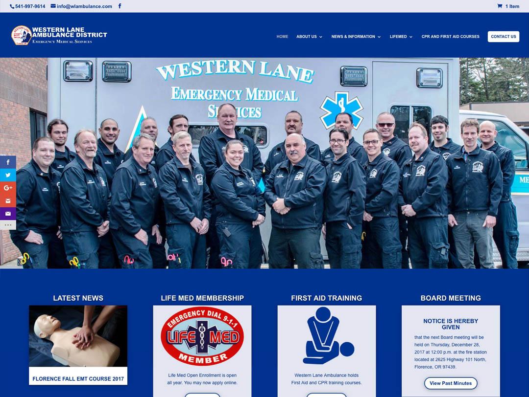 WLAD – Website Redesign